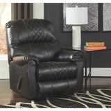 Pennelton  Rocker Recliner - Black