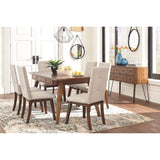 Centiar 5 Piece Casual Dining - Brown