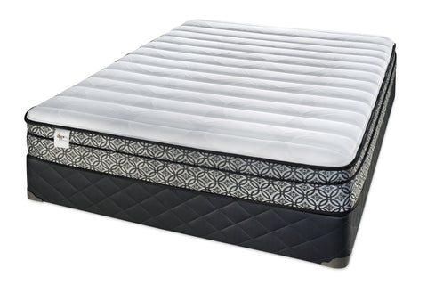 Sealy DRSG III Springfree Eurotop Plush Mattress Set
