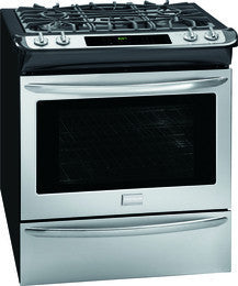 Frigidaire Gallery Slide-in Dual Fuel Range