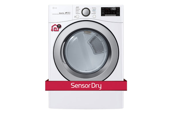 LG DRYER WHITE