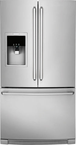 Counter-Depth French Door 22 Cu.Ft. Refrigerator with Wave-Touch® Controls