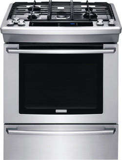 "Electrolux 30"" Dual-Fuel Built-In Range with Wave-Touch® Controls"