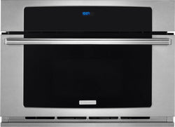 "Electrolux 30"" Built-In Convection Microwave Oven with Drop-Down Door"