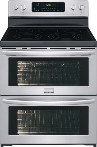 "Frigidaire Gallery 30"" Freestanding Electric Double Oven Range"