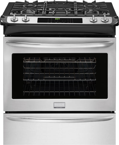 "Frigidaire Gallery 30"" Slide-In Gas Range"