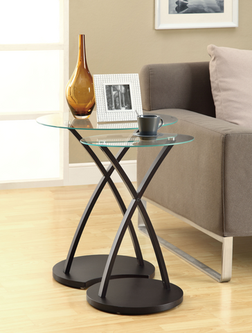 Glass Nesting Table
