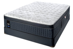 Sealy Quintessential Proback Lux Eurotop Plush Mattress Set