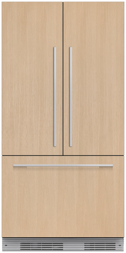 "36"" Integrated Panel Ready French Door Ice – 72"" H"