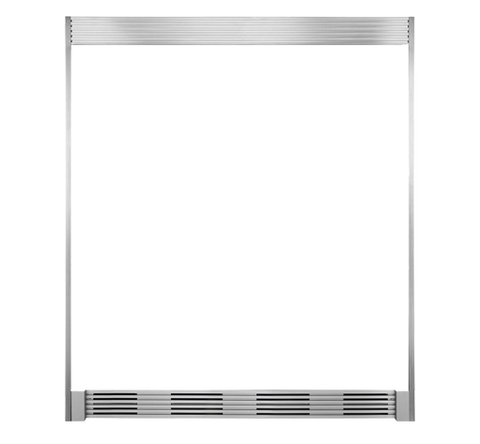 "Frigidaire 79"" Louvered or 75"" Collar Stainless Steel Trim Kit"