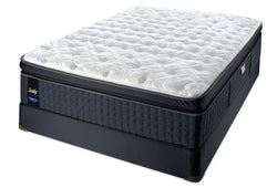Sealy Tallisman Proback Lux Europillowtop Plush Mattress Set