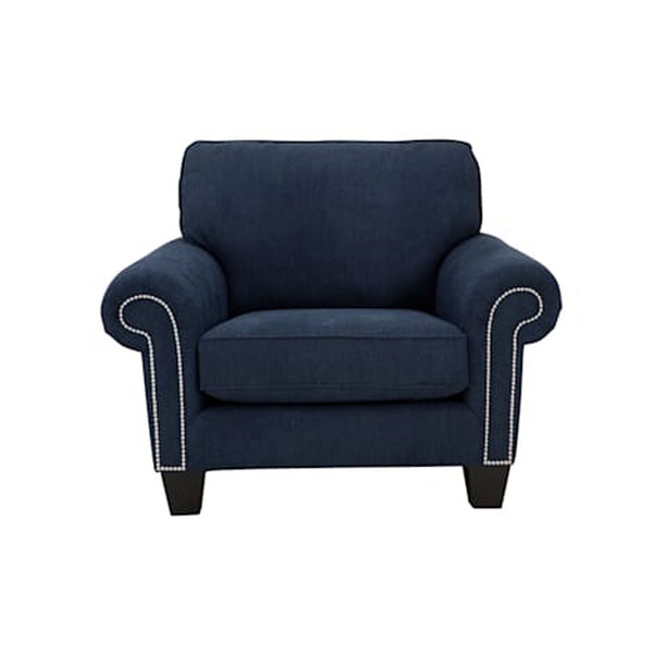 Glendale Chair and a Half - Navy