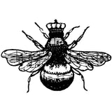 "Donna Salazar Bee Cling Stamps 4""X3"""