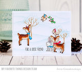 Dashing Deer Clear Stamps