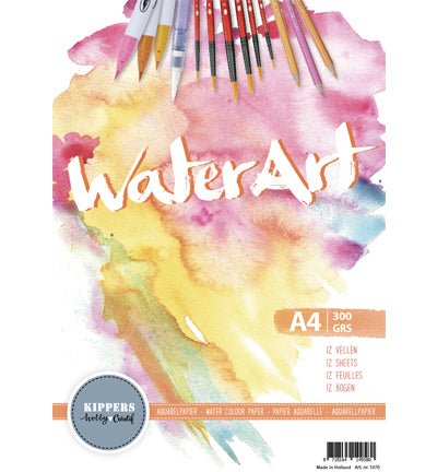 WaterArt Aquarelblok, 300gr