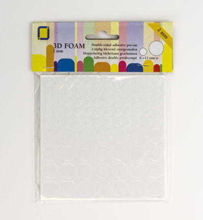 3D Foam Pads Circle  2mm
