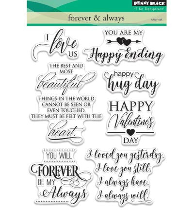 Forever & Always Clear Stamp  Set