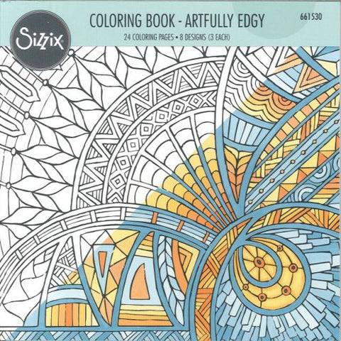 Coloring Book Artfully Edgy