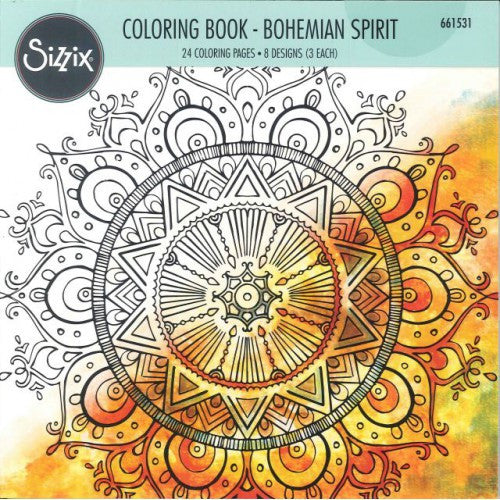 Coloring Book by Lindsey Serata, Bohemian Spirit