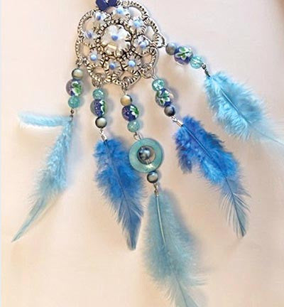 Dream Catcher Set: Blue