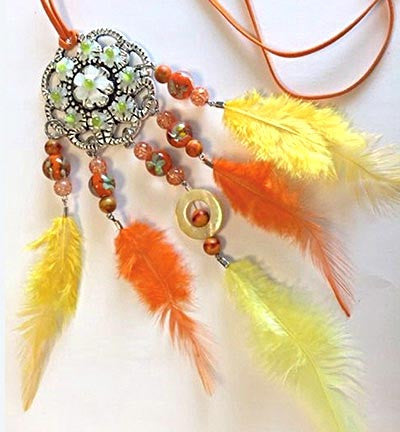 Dream Catcher Set: Yellow/Orange