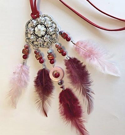 Dream Catcher Set: Bordeaux