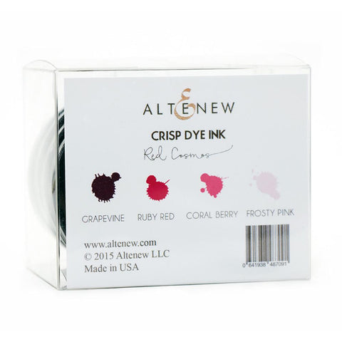 Altenew Red Cosmos Oval Set - YourHobbyMarket