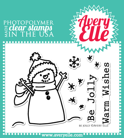 Be Jolly Clear Stamps
