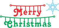Cheery Lynn Designs Dies - Merry Christmas Hanger (Set of 2)