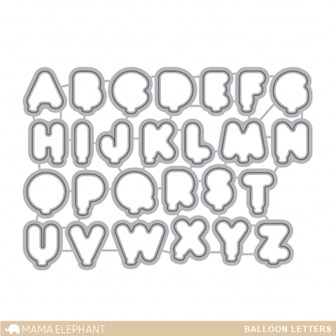 Balloon Letters - Creative Cuts