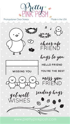 Birdie Friends Stamp Set