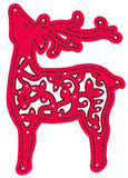 Crafts Too Cutting and Embossing Stencils - Flourish Deer