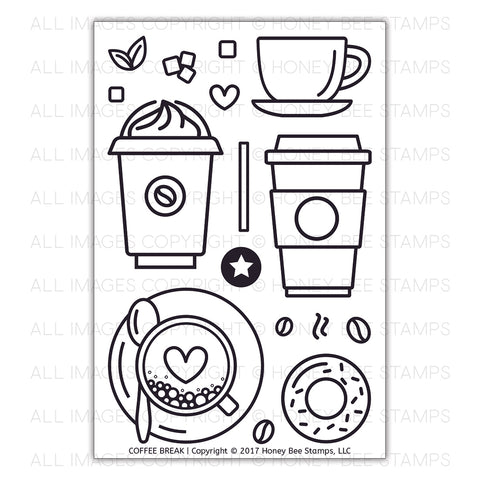 Coffee Break | 4x6 Stamp Set