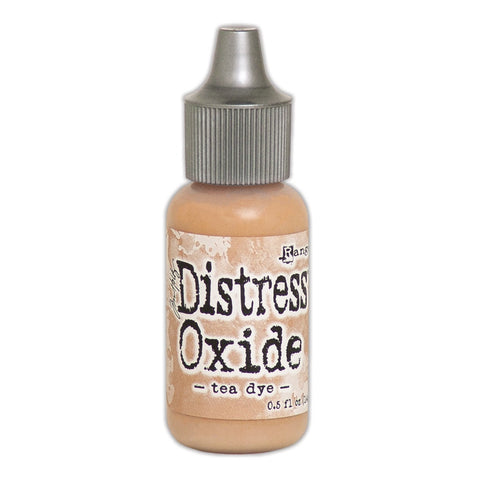 Distress Oxide Reinker: TEA DYE