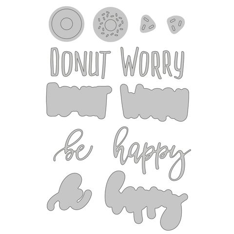 Donut Worry | Honey Cuts | Steel Dies