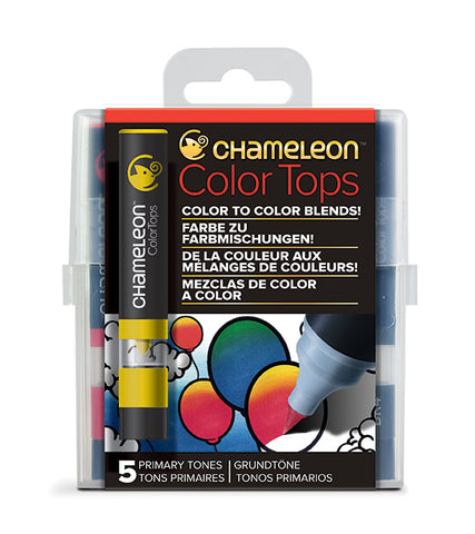 Chameleon 5 Color Tops Primary Tones Set
