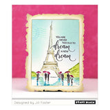 Penny Black  In Paris Clear Set Stamp