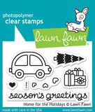 Home for the Holidays Stamp