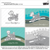 Bicycle built for you Stamp