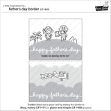 Father's Day Border