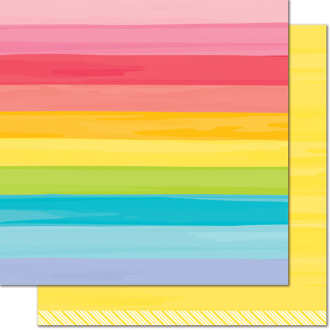 Yellow Brick Road 12x12 Patterned Paper
