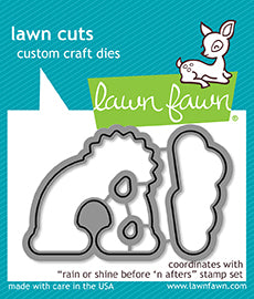 RESERVE Lawn Fawn  Rain or Shine Before 'n afters - Lawn cuts