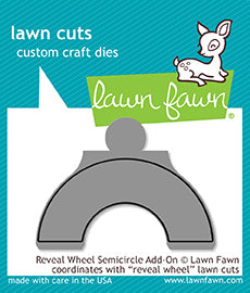 Lawn Fawn Reveal Wheel Semicircle add-on