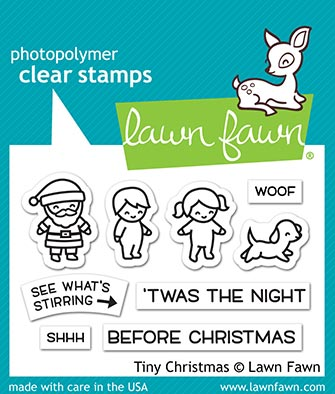 Tiny Christmas Stamp