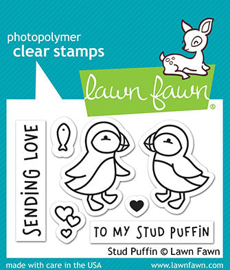 Stud Puffin Stamp