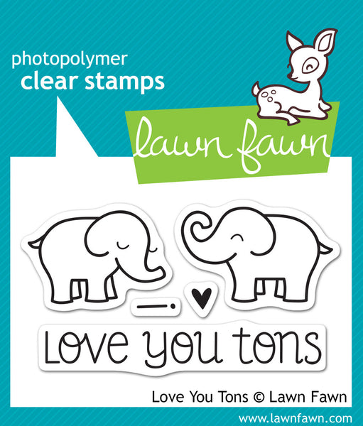 Love You Tons Stamps