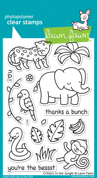 Critters in the Jungle Stamps