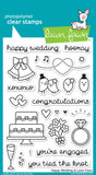 Happy Wedding Stamps