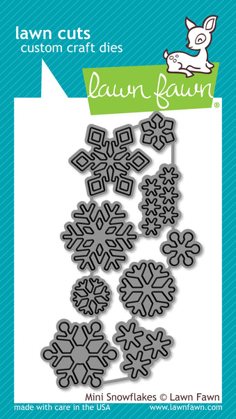 Mini Snowflakes Lawn-Cuts