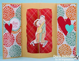 Art Impressions Love Spinner Stamp